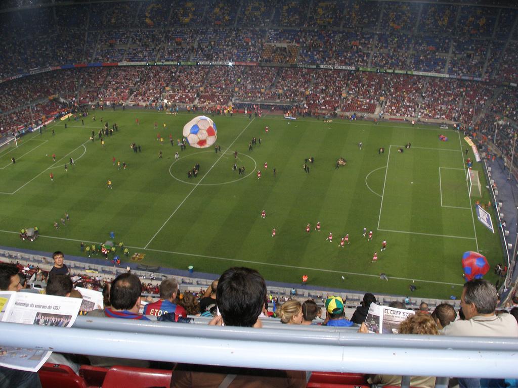 Stadion Nou Camp Barcelona