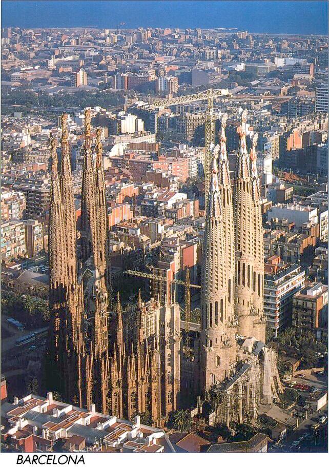 Temple Expiatori de la Sagrada Família Barcelona